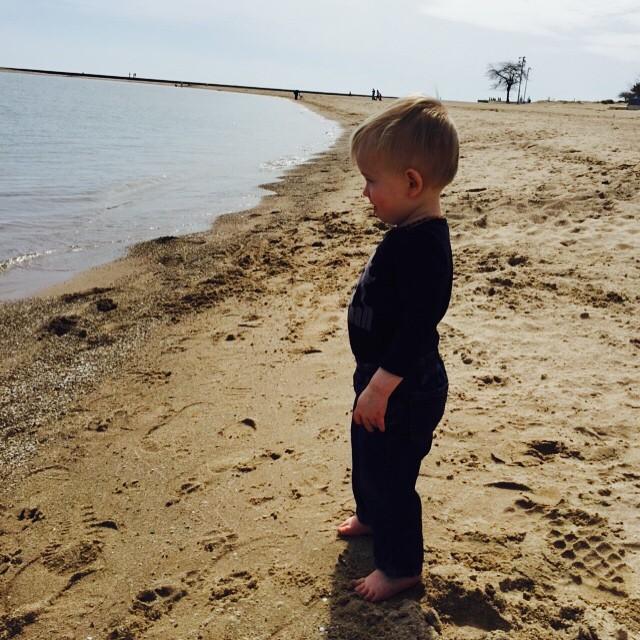 He likes Sesame Street, Legos, and long walks on the beach…