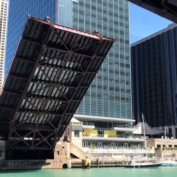 Chicago bridge is falling down…my fair lady.