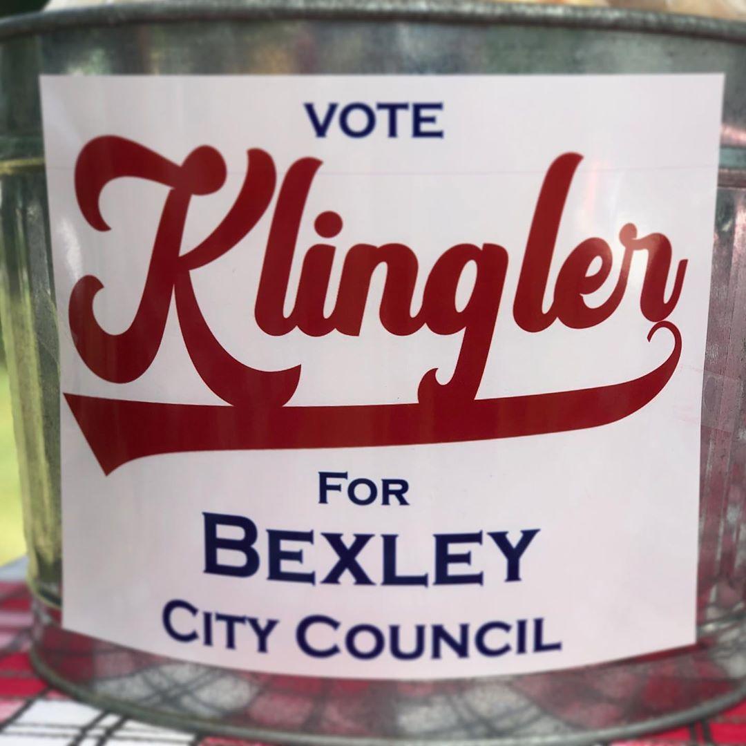 Vote Klingler #Bexley